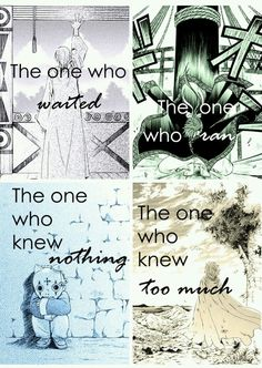 I love this picture a lot. Zeno... The one Who know too much.