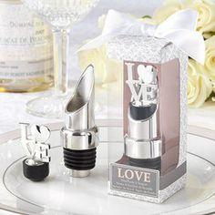 LOVE' Chrome Pourer/Bottle Stopper
