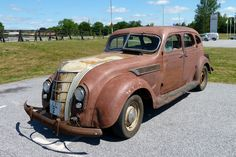 1935 Chrysler C1 Airflow - Not sure if its derelict or not ;)