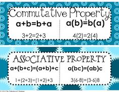 FREE Math Properties of Equality and Real Numbers Posters Accredited Online College Degree Programs Math Tutor, Teaching Math, Maths, Teaching Ideas, Math Class, Math Teacher, Teaching Tools, Teacher Stuff, Math Resources