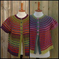 vest using Kauni yarn