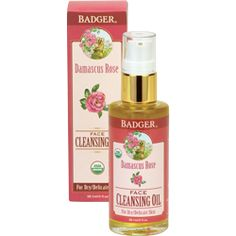 Damascus Rose Face Cleansing Oil tenderly cleanses dry to delicate skin. Castor and Apricot lift impurities while Olive, Sunflower, and Jojoba replenish essential vitamins, fatty acids, and lipids. Clears away makeup and impurities— leaving your skin feeling clean, balanced, and nourished.