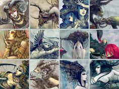 Zodiac Signs PRINT AVAILABLE by Yuhon.deviantart.com on @deviantART