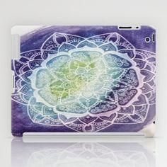 Watercolor // Galaxy // Mandala iPad Case by Abrakaydabra - $60.00