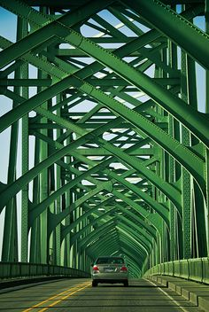 The Bridge - On the Columbia River - One side, Portland, OR, the other side, Vancouver, WA