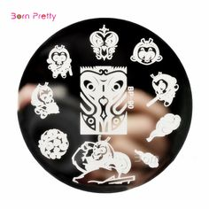 New Arrive Born Pretty Stamping Plates Monkey Water Marbles Nail Art Stamp Template Image Plate  BP90 # 25823 Nail That Deal http://nailthatdeal.com/products/new-arrive-born-pretty-stamping-plates-monkey-water-marbles-nail-art-stamp-template-image-plate-bp90-25823/ #shopping #nailthatdeal