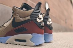 NIKE AIR MAX 90 SNEAKERBOOT (DARK DUNE/BARKROOT BROWN)   Sneaker Freaker