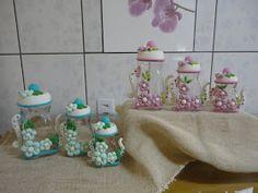 Biscuit com Detalhes: biscuit potes