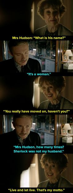 And when Watson told her that he was going to propose to someone.