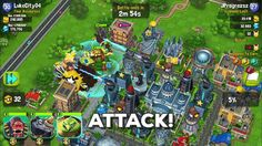 MonstroCity Rampage : quand Rampage rencontre Clash of Clans qui rencontre Sim City
