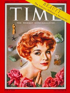 1958: TIME magazine cover ~ Jean Thorn, June 16