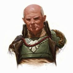 Imperial Guard - Warhammer 40k - Astra Militarum - Cadian Shock Troops - General - Officer