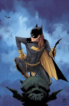 Batgirl by Christopher Iron #comics #bandadesenhada #quadrinhos #batman #batgirl #modernistablog