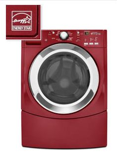 Water conservation tip: choose efficient appliances--An #energystar #washingmachine can save up to 18 gallons per load! WOAH thats a lot of money saving going on! @Whole Living