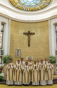 https://flic.kr/p/H1hif3   Ordenaciones diaconales en Roma 2016   ©LC Photoservice / Brett Taira, LC