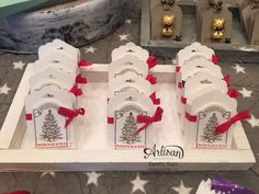 Weihnachtsmarkt 2015  Mini Rittersport Verpackung