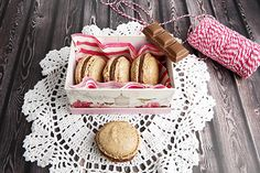 Chocolate Hazelnut Macarons recipe made in the Thermomix. TM5 makes everything easier, including macarons. Check out the Hazelnut & Chocolate macaron recipe.