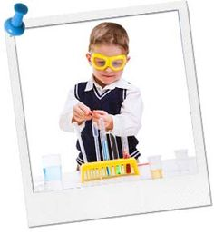 Science party ideas - Invitation ideas in link