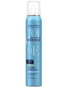 John Frieda Luxurious Volume Anytime Volume Refresher Spray 125 ml Hacim Kazandıran Sprey Kuru Şampuan hakkında kapsamlı bilgilere bu sayfadan ulaşarak bilgi sahibi olabilirsiniz.