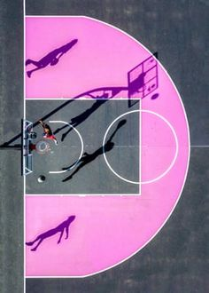 From a series of aerial photographs of basketball courts taken using a drone by Auckland based photographer Petra Leary. Photography Awards, Aerial Photography, Abstract Photography, Sport Photography, Photography Magazine, Amazing Photography, Photography Ideas, Basketball Art, Basketball Workouts