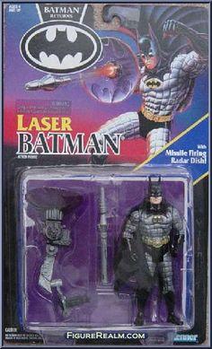 Kenner Batman Returns Series 1 Batman (Laser) 1992
