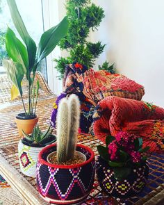 Here an idea of how to use the Moroccan Berber Baskets ☝