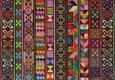 Picture of Cross-stitch pattern of Hill tribe people in Northern Thailand stock photo, images and stock photography. Cross Stitch Floss, Cross Stitch Borders, Cross Stitch Designs, Cross Stitching, Cross Stitch Patterns, Embroidery Purse, Cross Stitch Embroidery, Embroidery Designs Free Download, Fabric Drawing