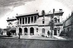 La casa de la familia Escandón en donde estuvo la residencia de los Marqueses de Santa Fe de Guardiola. Hoy Anexo Guardiola del Banco de Mexico.
