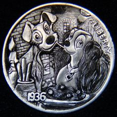 The Engraver's Cafe - The World's Largest Hand Engraving Community - My first steps into the hobo´s world Old Coins, Rare Coins, Hobo Nickel, Coin Art, Copper Penny, Metal Clay Jewelry, Chicano Art, Lady And The Tramp, Coin Collecting