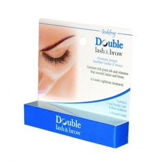 Godefroy Double Lash & Brow for Thinning Brows and Lashes