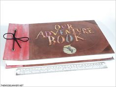 Disney/Pixar Up inspired Ellie's Adventure Book full size model custom made as wedding photo album