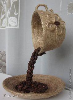 Jolie Décoration avec des grains de Café !!! | Meilleurs Bons Plans
