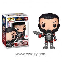 Figura POP Marvel Contest of Champions Punisher 2099 Exclusive 16,49 € Figura vinilo Funko POP de 9cm en caja regalo.