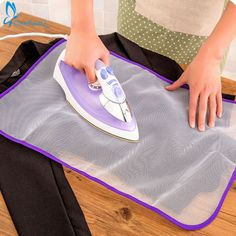 1pc Ironing Board Cover Protective Press Mesh Iron for Ironing Cloth Guard Protect Delicate Garment Clothes Home Accessories