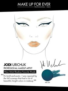 MAKE UP FOR EVER 30 Years. 30 Colors. 30 Artists. Jodi Urichuk's favorite shade ME-230.