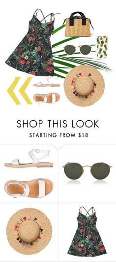 """""""🍃"""" by deichaac on Polyvore featuring n.d.c. and Ray-Ban"""