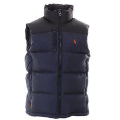 Essential Kit - Polo Ralph Lauren : Gilets : Core Trek Gilet in Navy : John Anthony Mens Designer Clothes