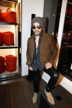 Lenny Kravitz - New Boutique 77 avenue des Champs-Elysées (Credit:Getty Images) - December 4th 2014