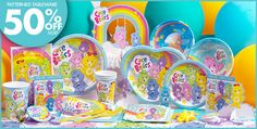 Enjoy this one-stop resource for all your Care Bears Birthday party ideas and Care Bears party supplies! From decorations to food, games to party bags, solve all your Care Bears birthday needs in one place. Girls Birthday Party Themes, Rainbow Birthday Party, 4th Birthday Parties, Birthday Decorations, Girl Birthday, Care Bear Birthday Party Ideas, Care Bear Party, Alice, Care Bears