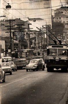 Rua Voluntários da Pátria no ano de 1973