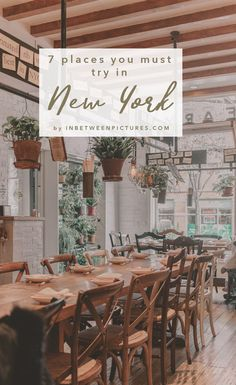 Where to eat in NYC 7 Places You Must Try In New York City - A foodie's guide to the big apple. Recommendations from upscale Michelin star restaurants to the recently featured eatery on the Netflix's show, Ugly Delicious.