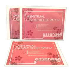Essencell Menstrual Cramp Relief Patch provides natural heat without any medication. These pain relief patches steadily produce heat over a long time, so you get constant relief from cramping and comfort all day long.