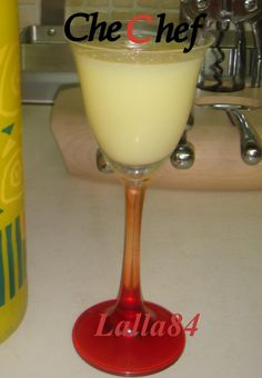 la mia crema di limoncello!