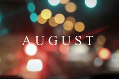 My month!! Starting to get excited about my birthday!