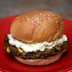 Sink Your Teeth Into This Sweet Potato Burger With Creamy Avocado - Use gluten free buns