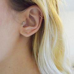 Arrow Tragus Earring Arrow Cartilage Earring Arrow Stud