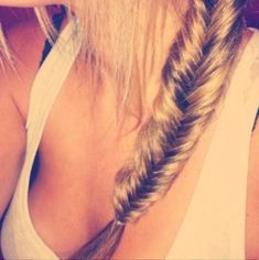 perfect fishtail braid #hair