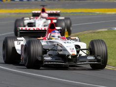 Jacque Villeneuve - 2003 - Australia GP - Lucky Strike BAR Honda