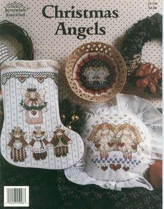 Cross stitch pattern Christmas Angels 01