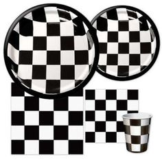 Auto Racing - Party at Lewis Elegant Party Supplies, Plastic Dinnerware, Paper Plates and Napkins